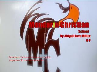 Mandar i n Christian School