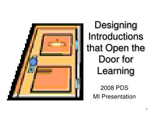 Designing Introductions that Open the Door for Learning