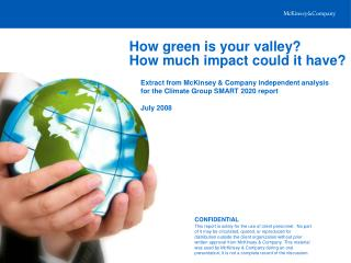 How green is your valley? How much impact could it have?
