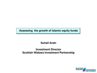 Assessing  the growth of Islamic equity funds