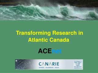 Transforming Research in Atlantic Canada