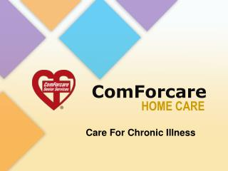 Care for Chronic Illness