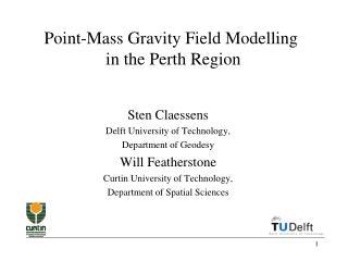 Point-Mass Gravity Field Modelling  in the Perth Region