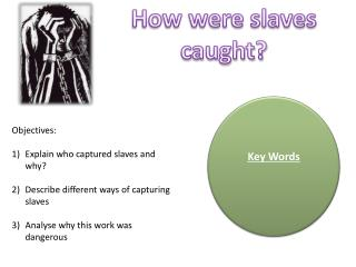How were slaves caught?