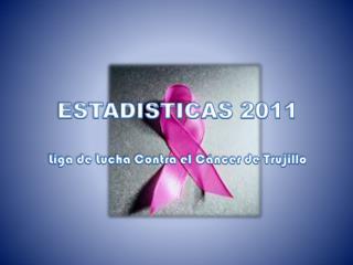ESTADISTICAS 2011