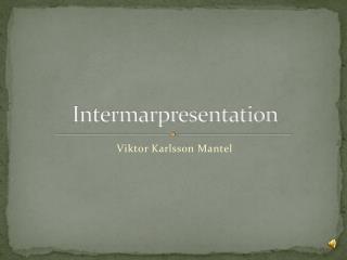 Intermarpresentation