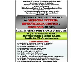 Ministerio de Salud de la Provincia de Buenos Aires Academia Nacional de Medicina