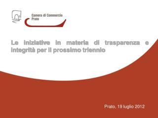 Prato, 19 luglio 2012