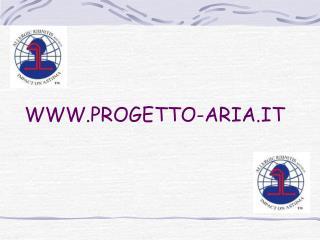 WWW.PROGETTO-ARIA.IT