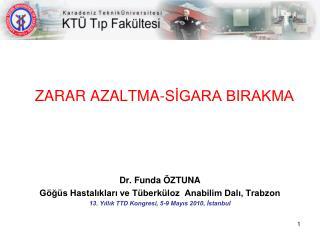 ZARAR AZALTMA-SİGARA BIRAKMA