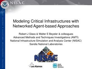 Modeling Critical Infrastructures with Networked Agent-based Approaches