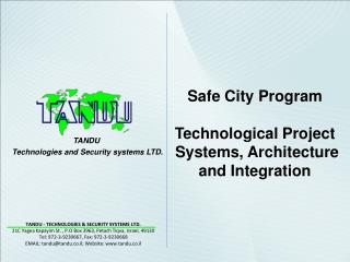 TANDU  Technologies and Security systems LTD.