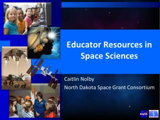 Educator Resources in Space Sciences