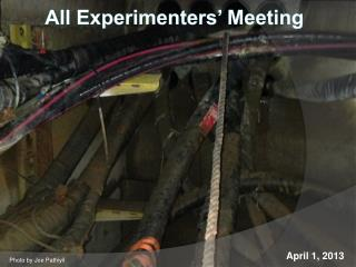 All Experimenters� Meeting