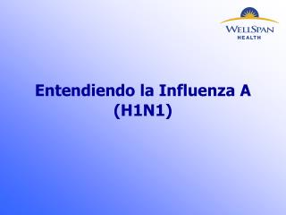 Entendiendo la Influenza A (H1N1)