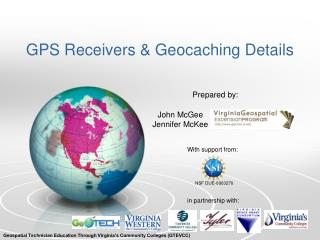 GPS Receivers &  Geocaching  Details