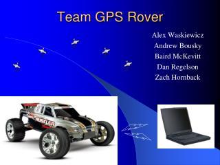 Team GPS Rover