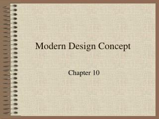 Modern Design Concept