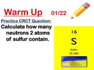 Warm Up 01/22