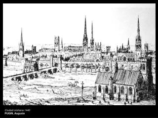 Ciudad cristiana 1440 PUGIN, Auguste