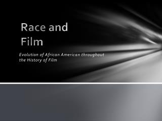Race and Film