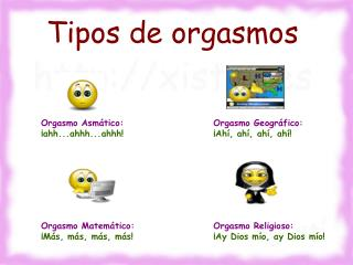 Tipos de orgasmos