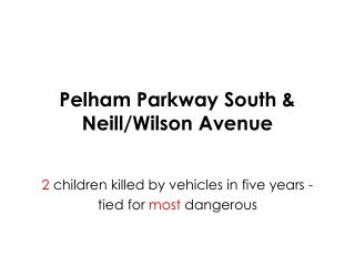 Pelham Parkway South & Neill/Wilson Avenue