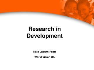 Research in Development