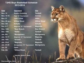 2013 2014 schedule final draft