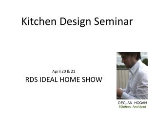 Kitchen Design Seminar