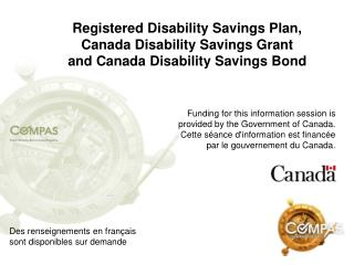 Funding for this information session is provided by the Government of Canada.