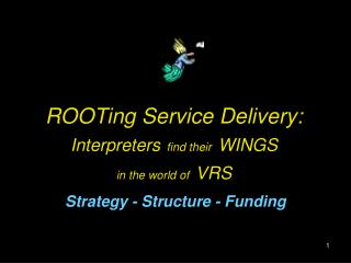 ROOTing Service Delivery: Interpreters find their WINGS in the world of VRS