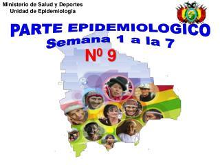 Ministerio de Salud y Deportes  Unidad de Epidemiología