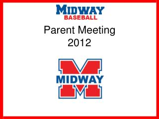 Parent Meeting 2012