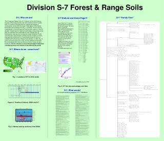 Division S-7 Forest & Range Soils