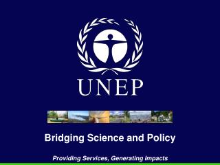 Bridging Science and Policy