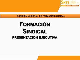 Formación Sindical presentación ejecutiva