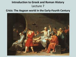 Introduction to Greek and Roman History