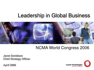 Leadership in Global Business