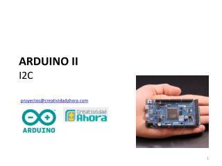 ARDUINO II I2C