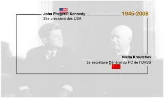 John Fitzgeral Kennedy 35e pr sident des USA