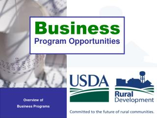 Business Program Opportunities