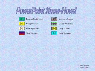 PowerPoint Know-Hows!