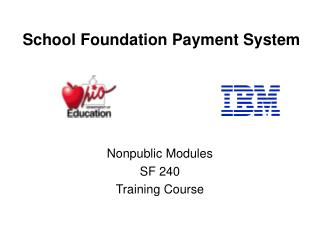School Foundation Payment System