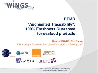Nicolas PAUVRE, GS1 France  GS1 Industry & Standards Event, March 21-25, 2011 � Brooklyn, NY