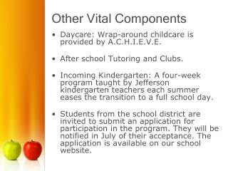 Other Vital Components