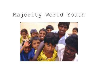 Majority World Youth