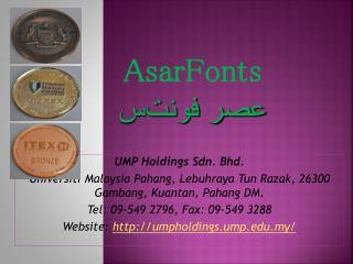UMP Holdings Sdn. Bhd.