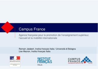 Campus France  Italie