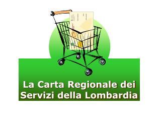 La Carta Regionale dei Servizi della Lombardia